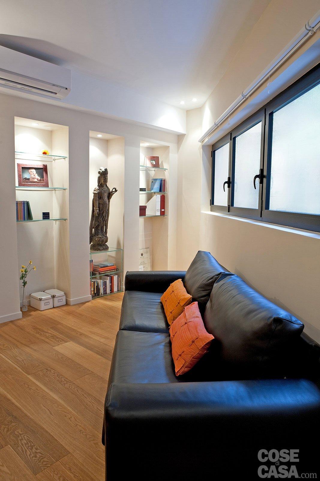 Una casa mini con curve e nicchie risolutive cose di casa for Nicchie nelle pareti