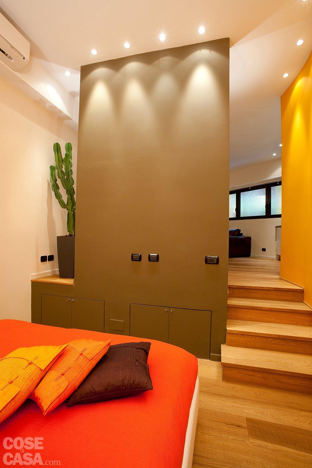 Una casa mini con curve e nicchie risolutive cose di casa - Un letto in una nicchia ...