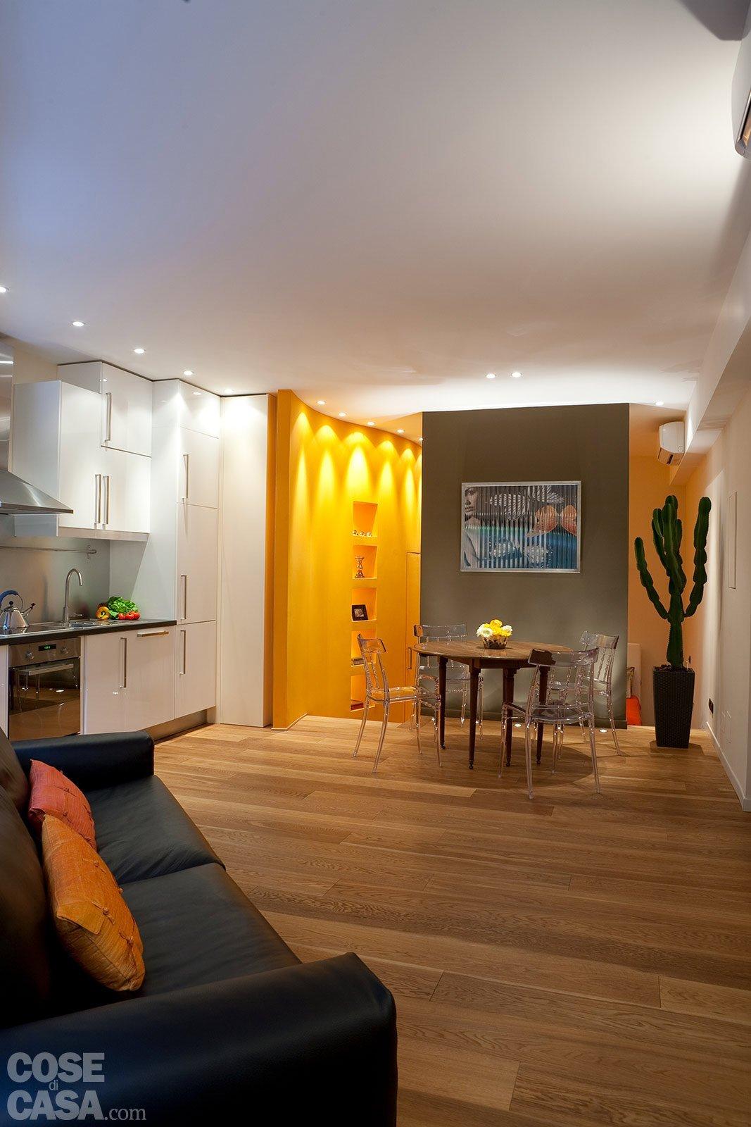 Una casa mini con curve e nicchie risolutive cose di casa for Case di casa