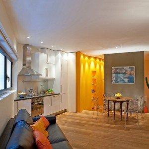 Case piccole due soluzioni diverse di 44 mq e 37 mq for Soluzioni case piccole