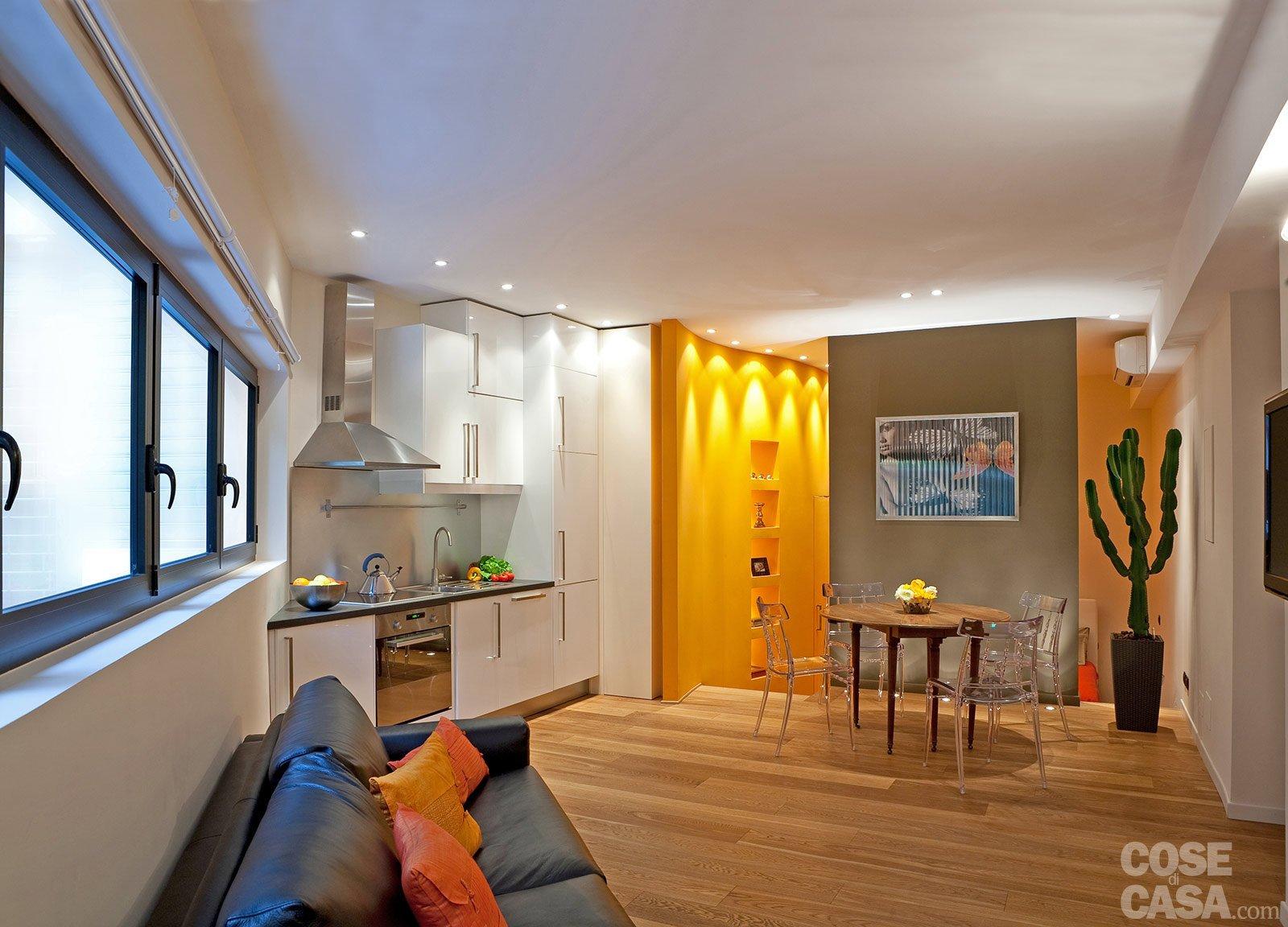 Una casa mini con curve e nicchie risolutive cose di casa for Cose di casa