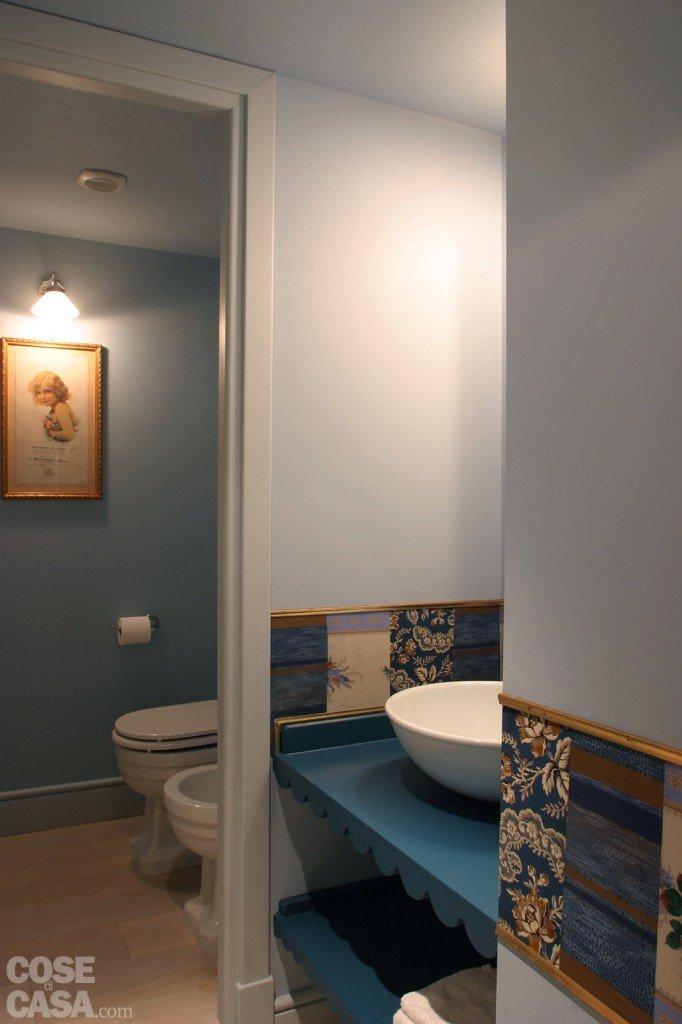 60 mq una casa in tonalit pastello cose di casa - Vernice per bagno al posto delle piastrelle ...