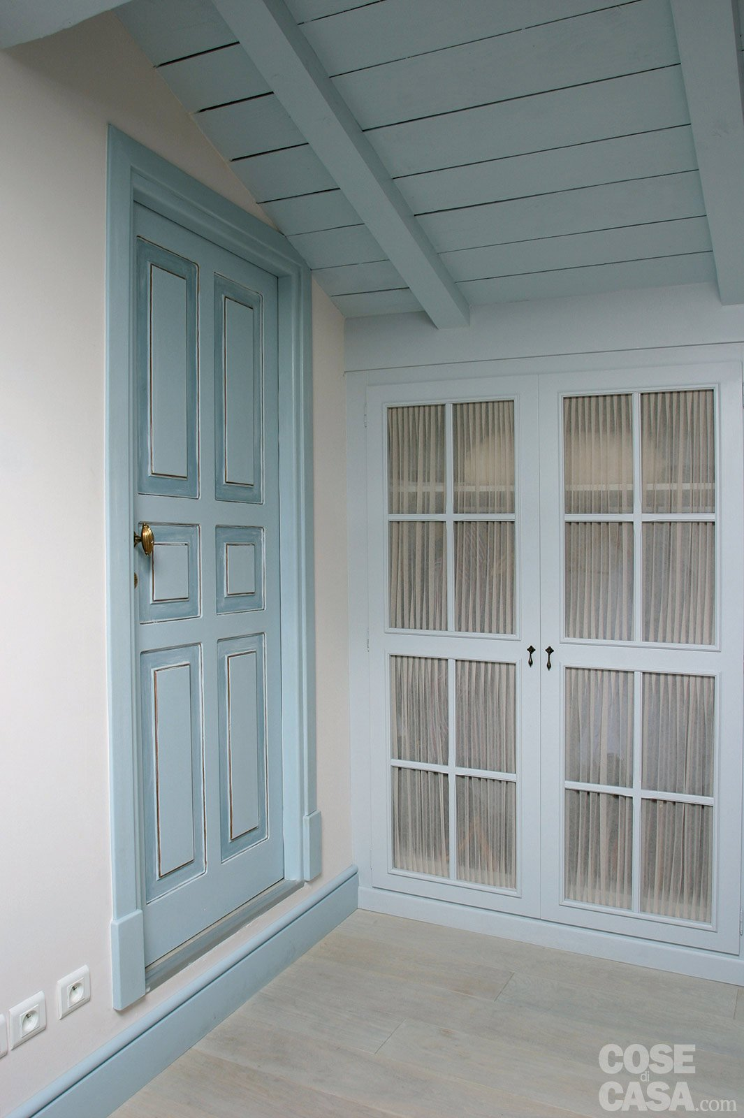60 mq: una casa in tonalità pastello - cose di casa - Tende Per Soggiorno Etnico