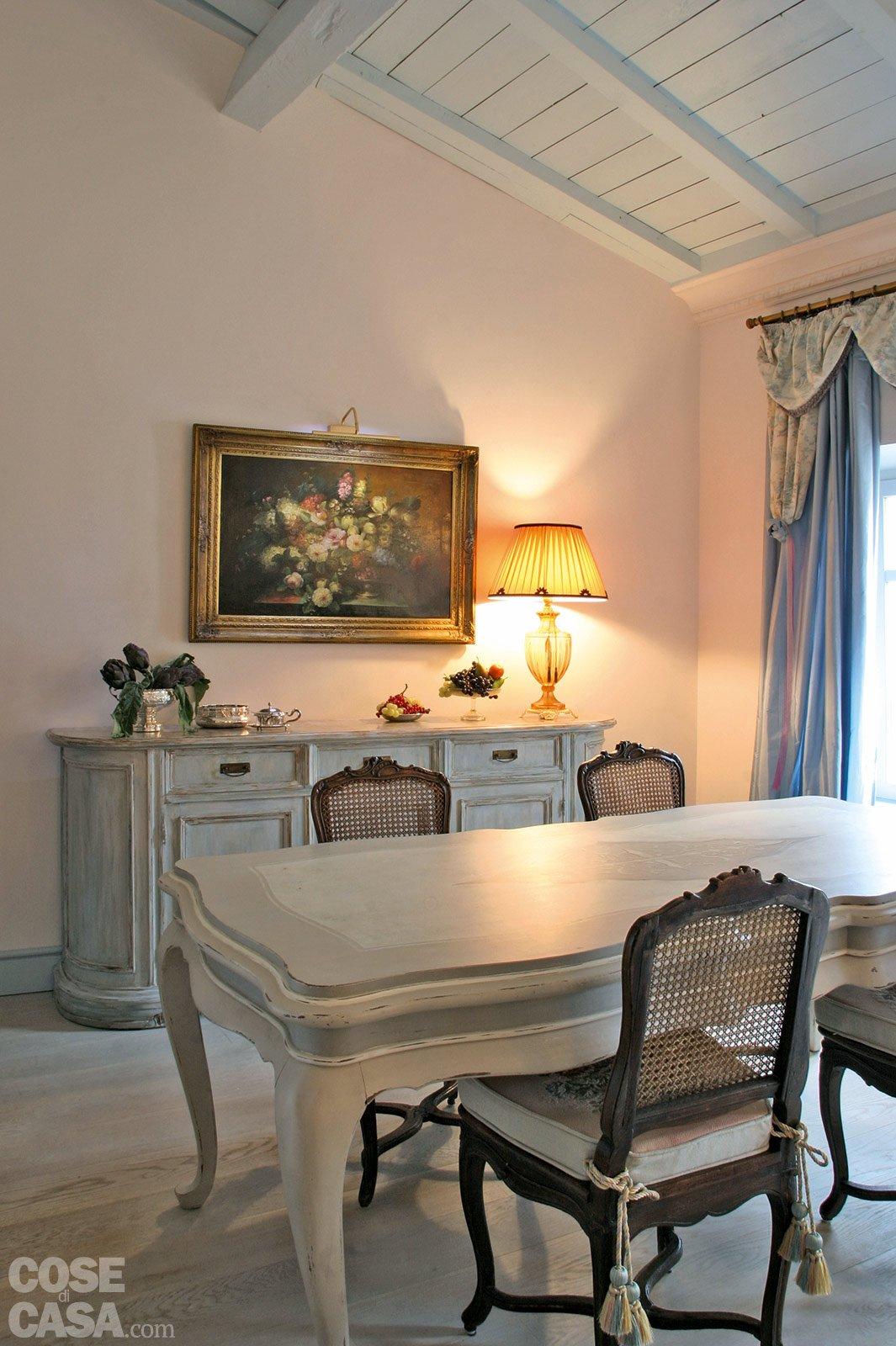 60 Mq: Una Casa In Tonalità Pastello Cose Di Casa #AD671E 1065 1600 Cuscini Per Sedie Sala Da Pranzo