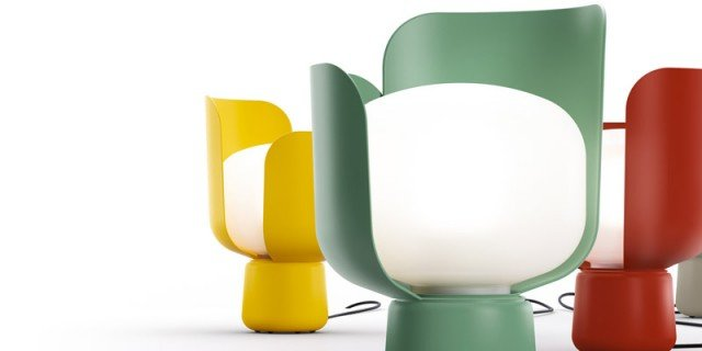 Lampade: sculture luminose per il tavolo