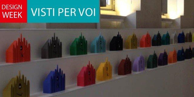 Fuorisalone 2014: sulle terrazze del Duomo cucù colorati
