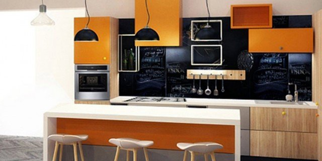 Nuove cucine: con un tocco di colore fluo