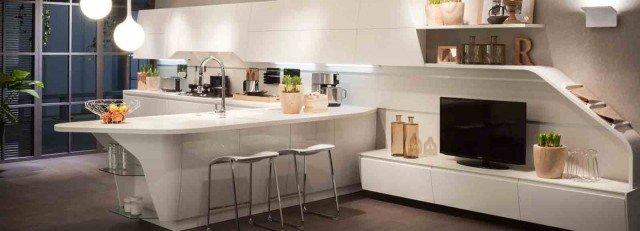 In cucina definire le funzioni con le penisole progetto in pianta per 25 mq cose di casa - Sala cucina 25 mq ...