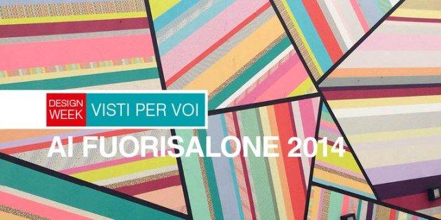 Design Week: in diretta dal Fuorisalone 2014 colore e geometrie