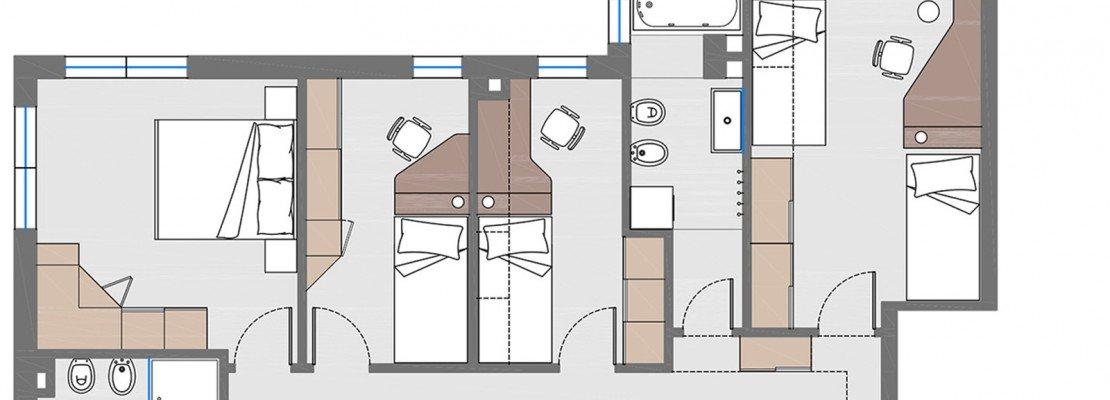 Camera Da Letto 7 Mq: Di circa mq e quindi della superficie minima per ...