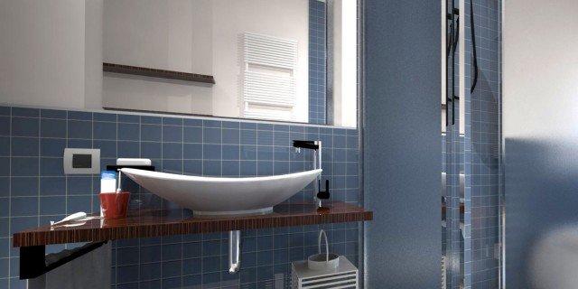 Dove metto la doccia nel bagno lungo e stretto cose di casa - Doccia per lavandino ...