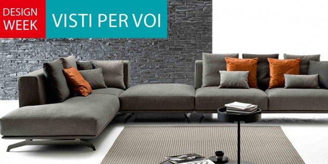divani - consigli e idee sull'arredamento - cose di casa - Angolo Divani In Copertina Nera