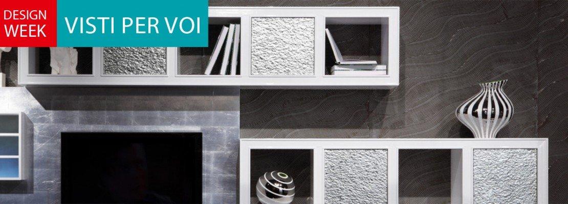 Salone del mobile 2014: le nuove librerie e pareti attrezzate ...