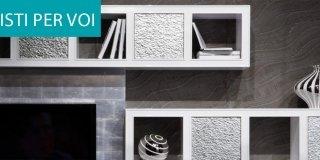 Salone del Mobile 2014: le nuove librerie e pareti attrezzate