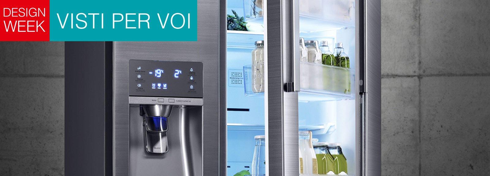 Cucina hi tech risparmiare energia con il frigo diviso in for Nuovo frigo samsung
