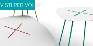 Tavolini per il soggiorno: tendenze dal Salone del Mobile 2014