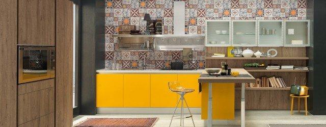 Industrial style a eurocucina 2014 cose di casa - Piastrelle cucina torino ...