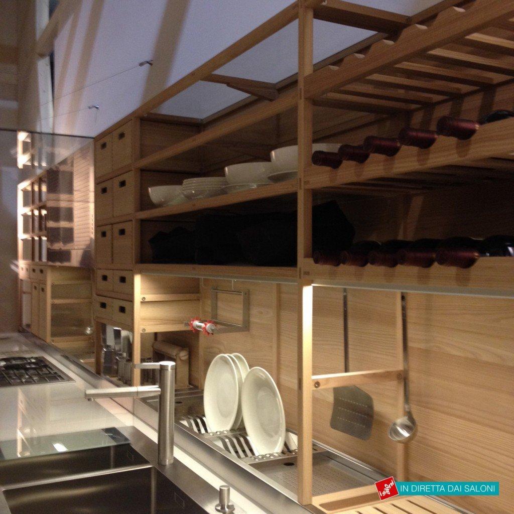 Eurocucina 2014: Tendenza Legno In Primo Piano Cose Di Casa #08A3AF 1024 1024 Veneta Cucine A Siena