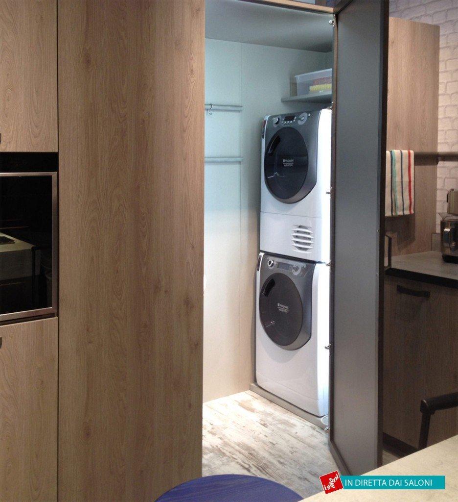 Salone del mobile 2014 mix di materiali per le nuove cucine cose di casa - Cucina code snaidero ...