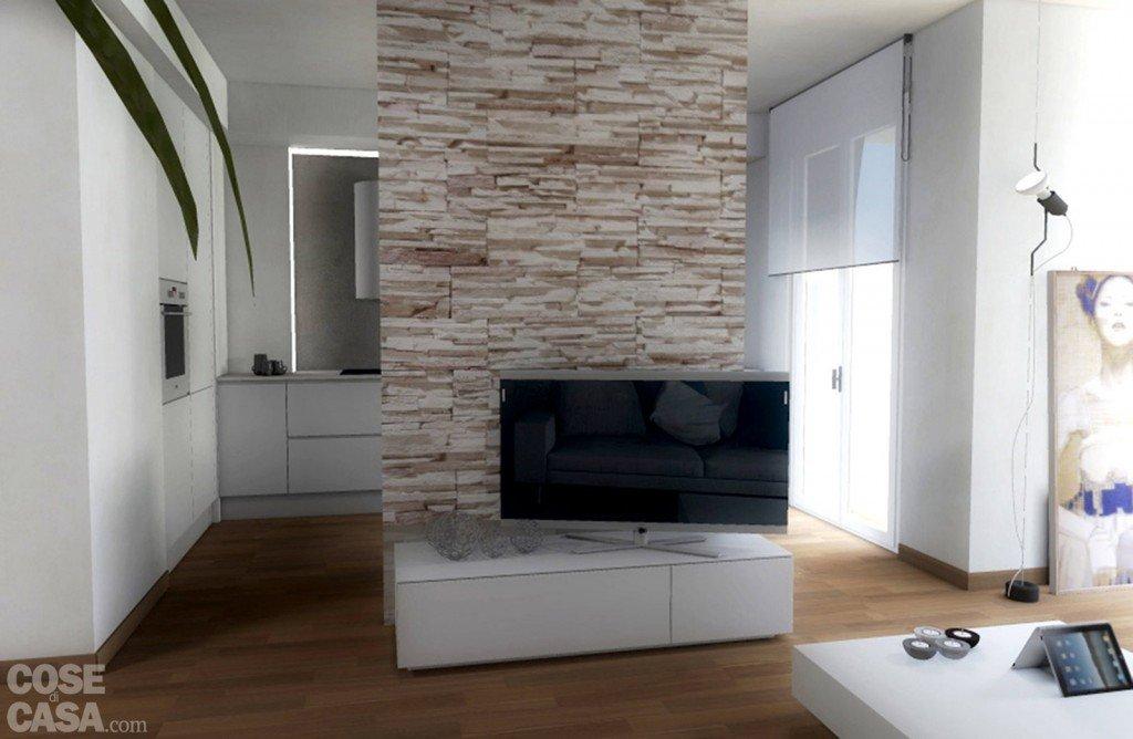 Parete Cartongesso Porta Tv: Armadio a muro in cartongesso ante scorrevoli cabine.