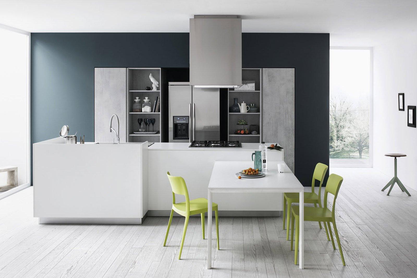Cucine bianche moderne cose di casa - Cucine senza elettrodomestici ...