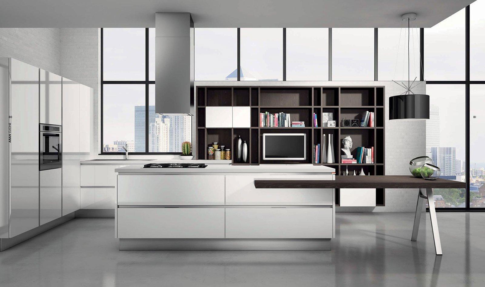La cucina con l\'isola: monocromatica o bicolore - Cose di Casa