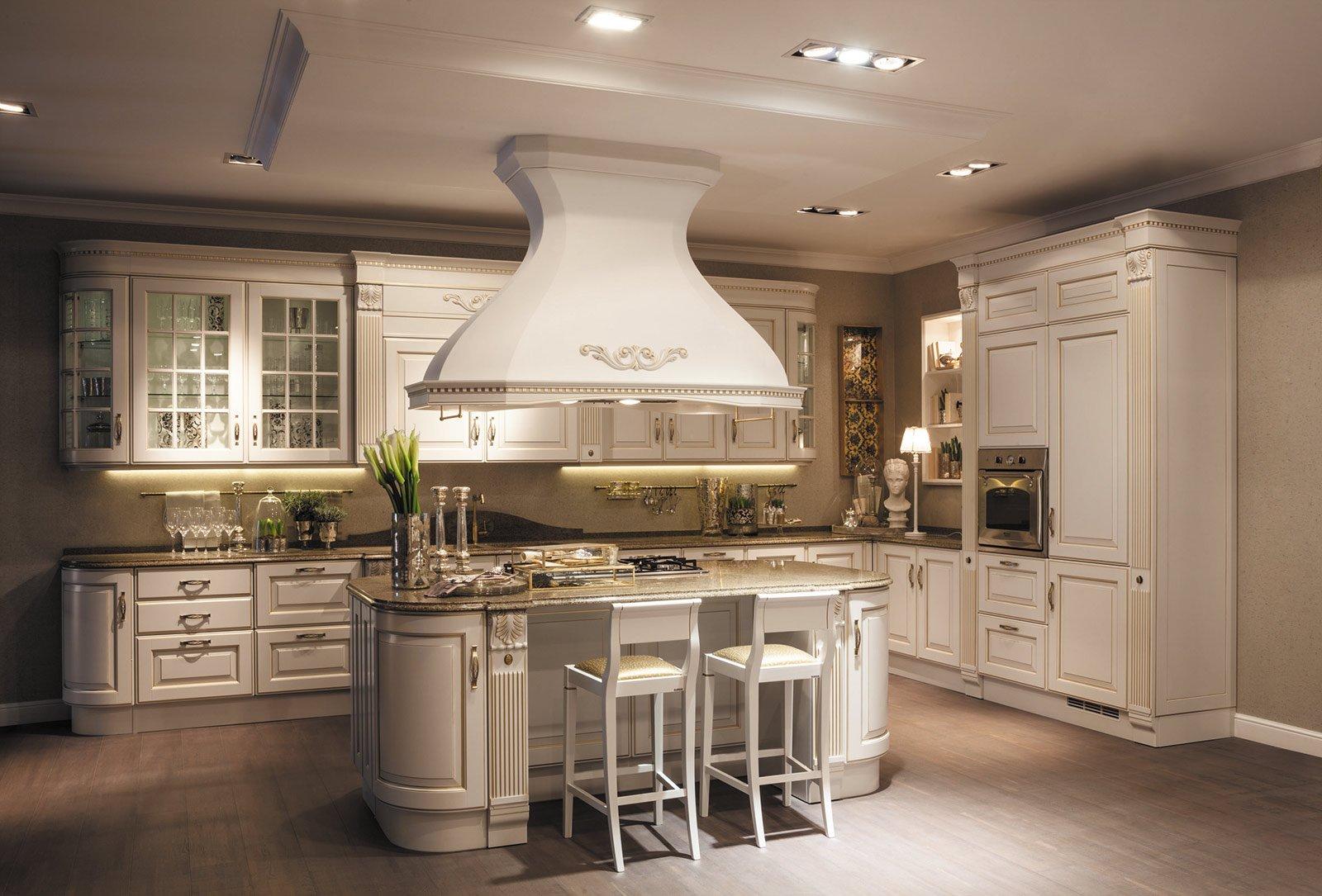 Cucine in stile cose di casa for Cucina baltimora scavolini