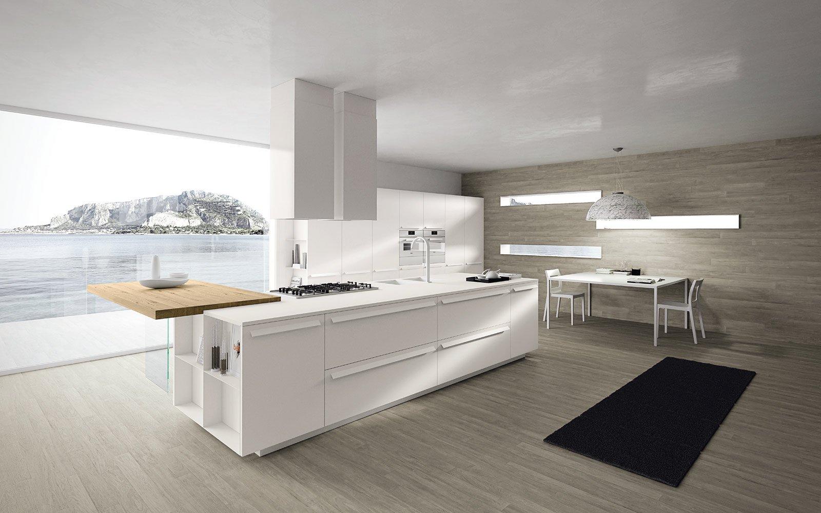 Ak 05 Di Arrital è Un Modello In Cui Si Fondono Nuove Tecnologie E  #726859 1600 1001 Top Per Cucina Corian