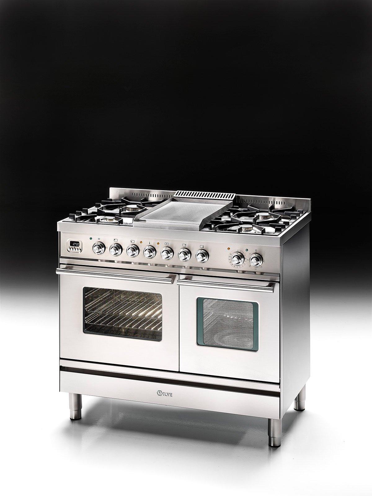 Cucina monoblocco piano cottura e forno tutto in uno - Forno combinato microonde ed elettrico ...