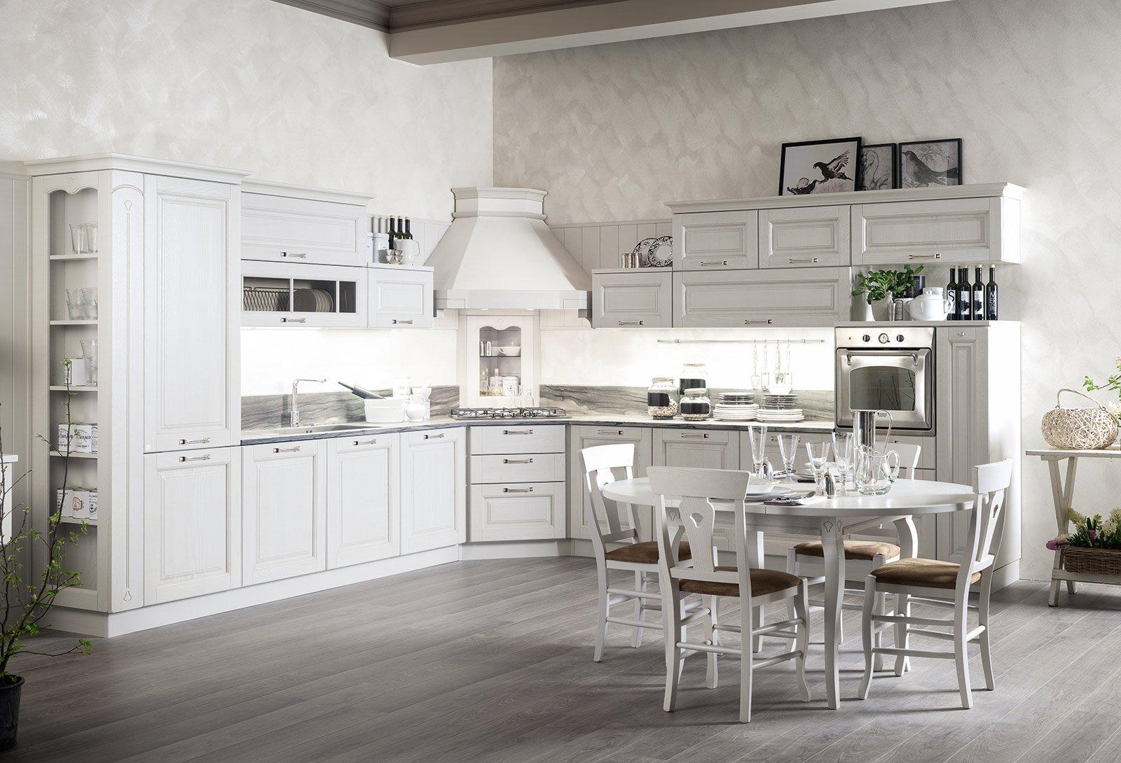 La nuova cucina country new classic cose di casa - Cucina country bianca ...