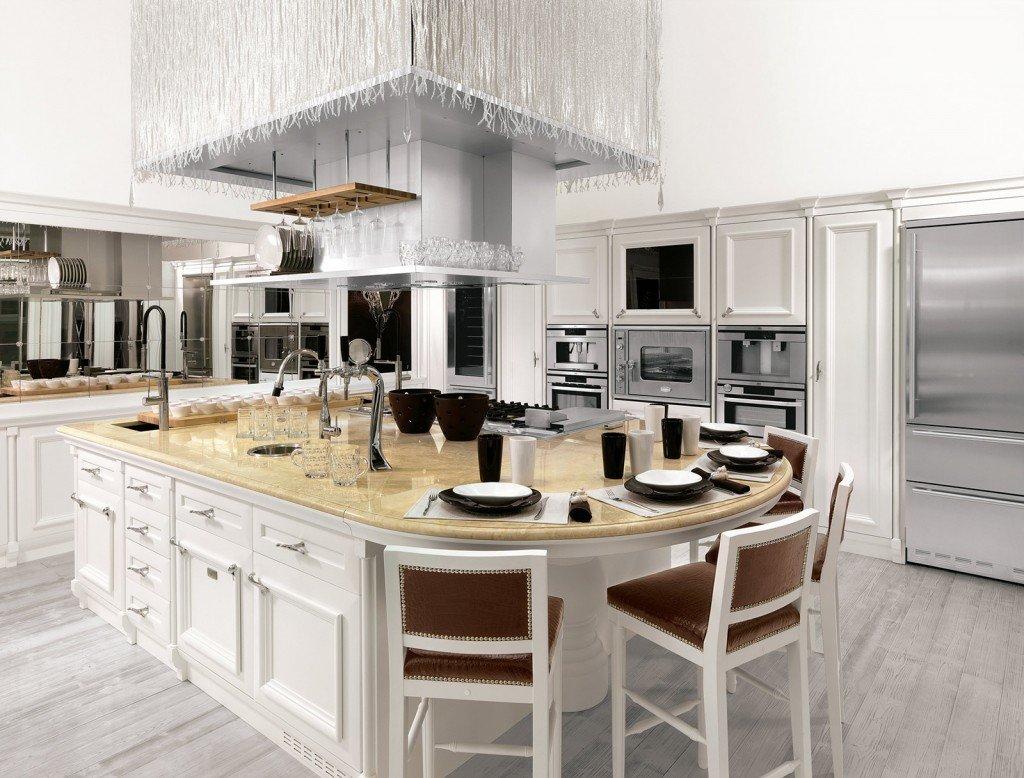 La Nuova Cucina Country è New Classic Cose Di Casa #8A6A41 1024 778 Foto Cucine In Muratura Classiche