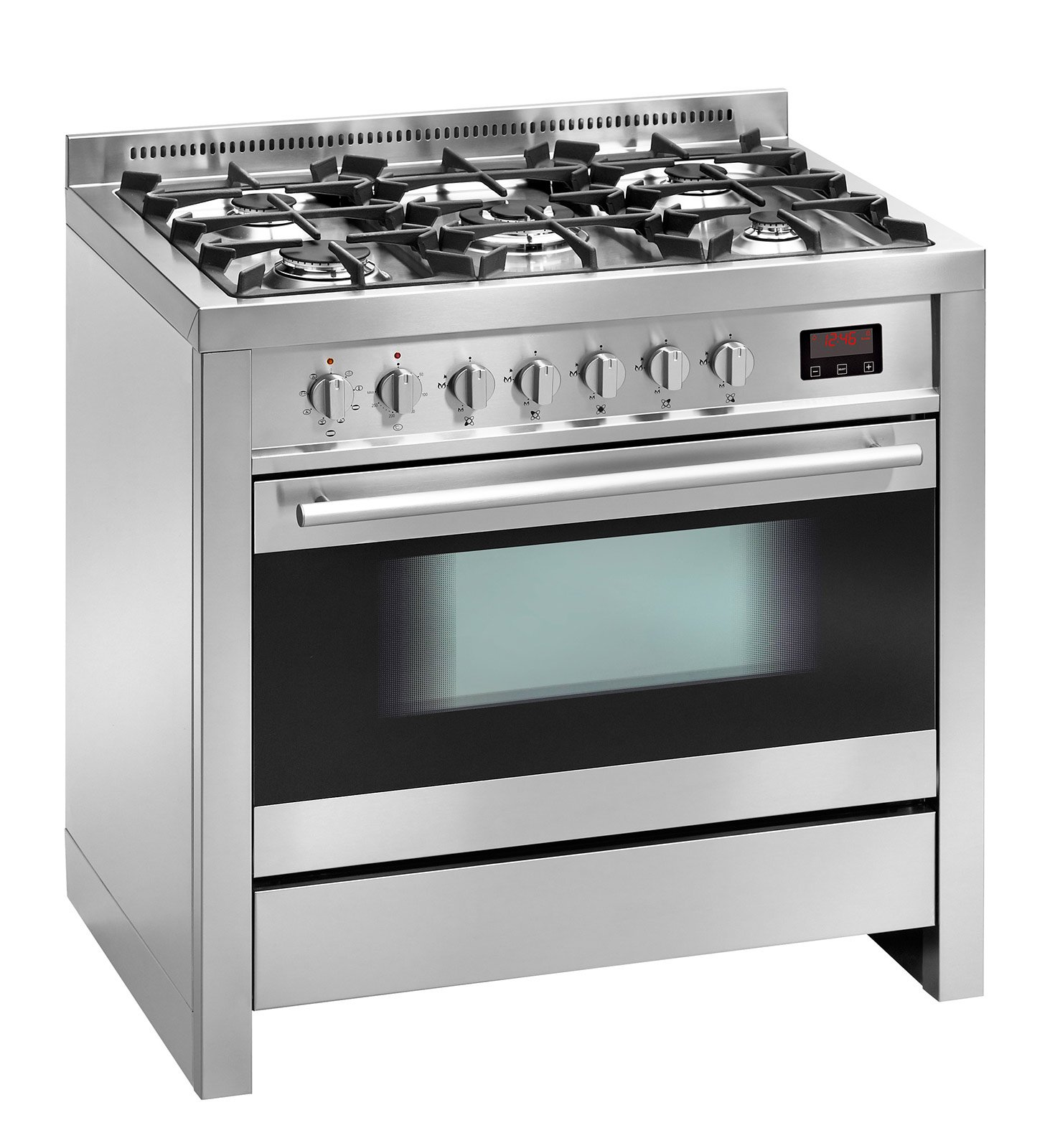Cucina monoblocco piano cottura e forno tutto in uno for Cucina 5 fuochi 70x60