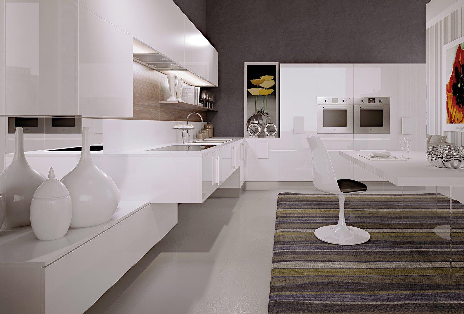 Immagini Cucine Moderne Bianche.Cucine Bianche Moderne Cose Di Casa