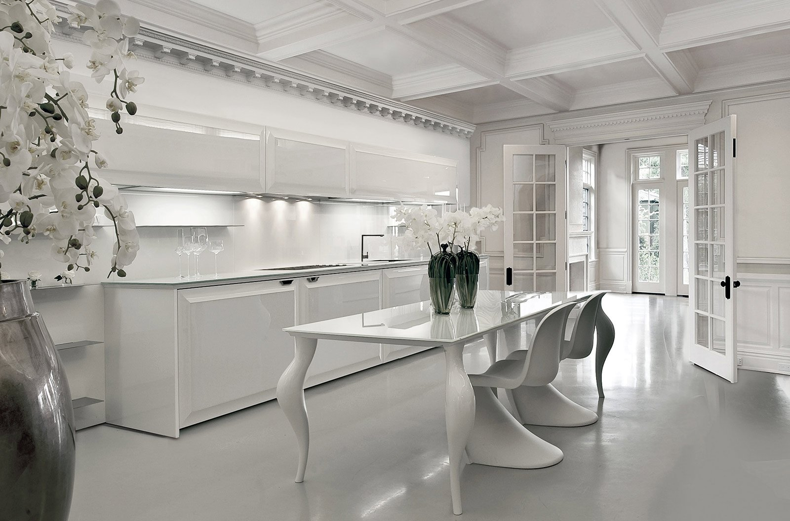 Cucine in stile cose di casa - Pannelli da cucina ...