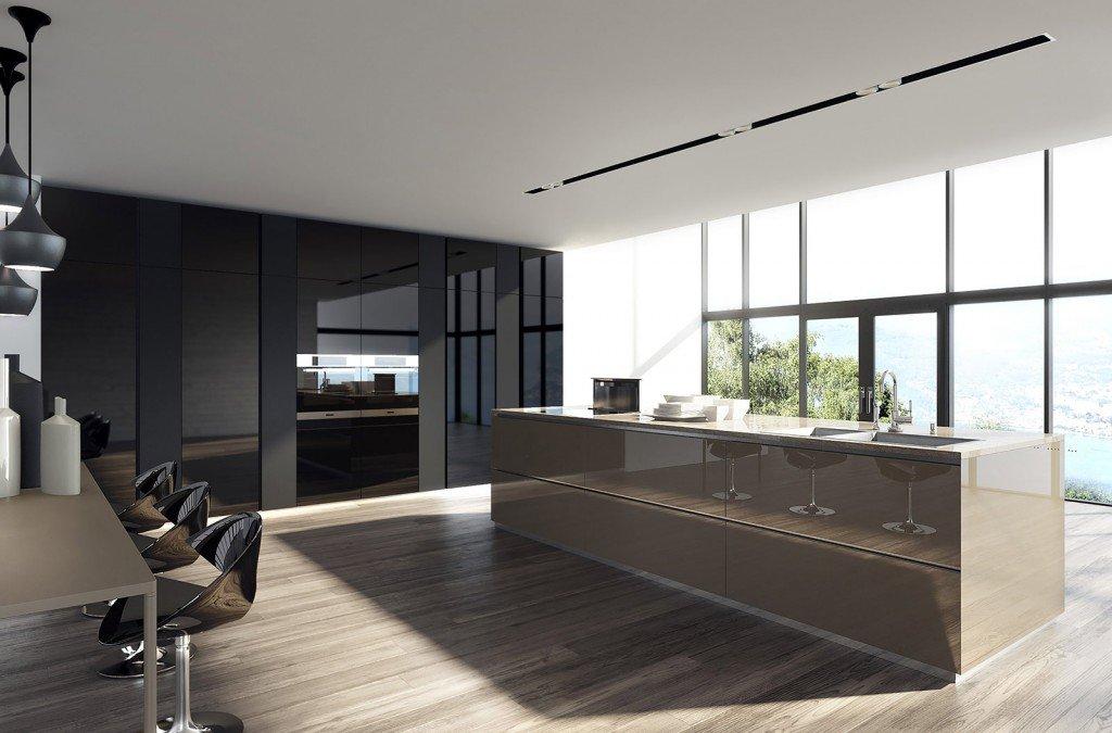 La cucina con l 39 isola monocromatica o bicolore cose di casa - Cucine moderne bicolore ...
