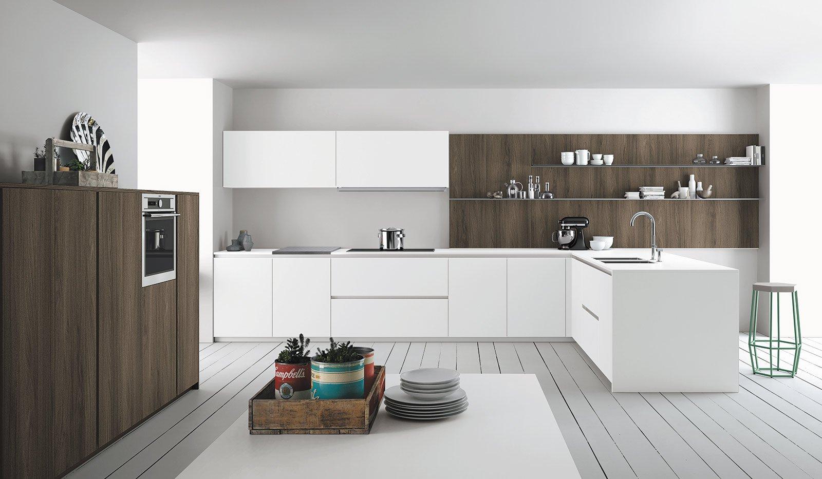 Cucine Moderne Laccate Lucide Bianche : Cucine bianche moderne cose di casa