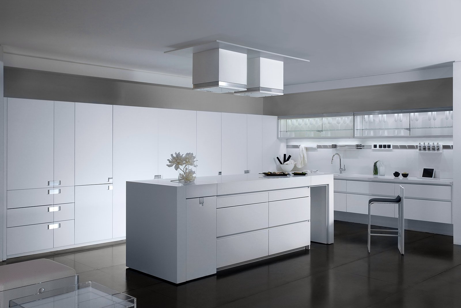 Awesome cucine bianche moderne contemporary design and - Cucine bianche moderne ...