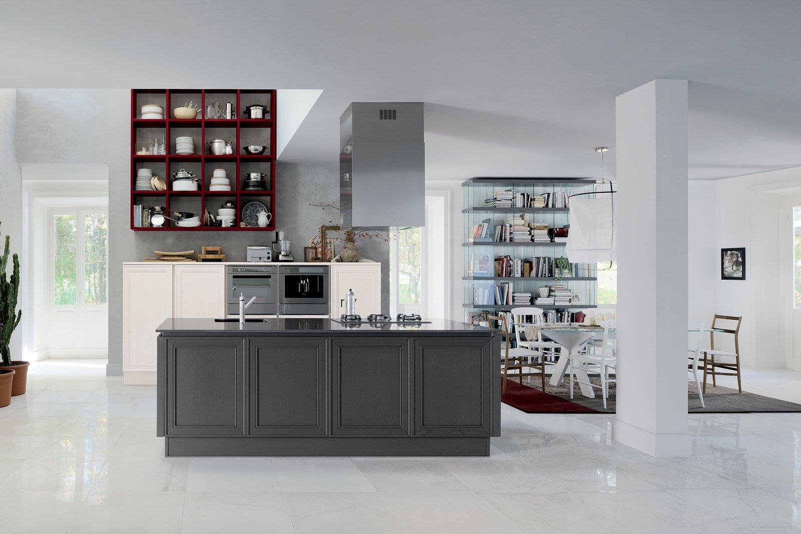 Protagonista Di Elegante Di Veneta Cucine è Il Frassino Laccato  #643834 1600 1067 Aran O Veneta Cucine