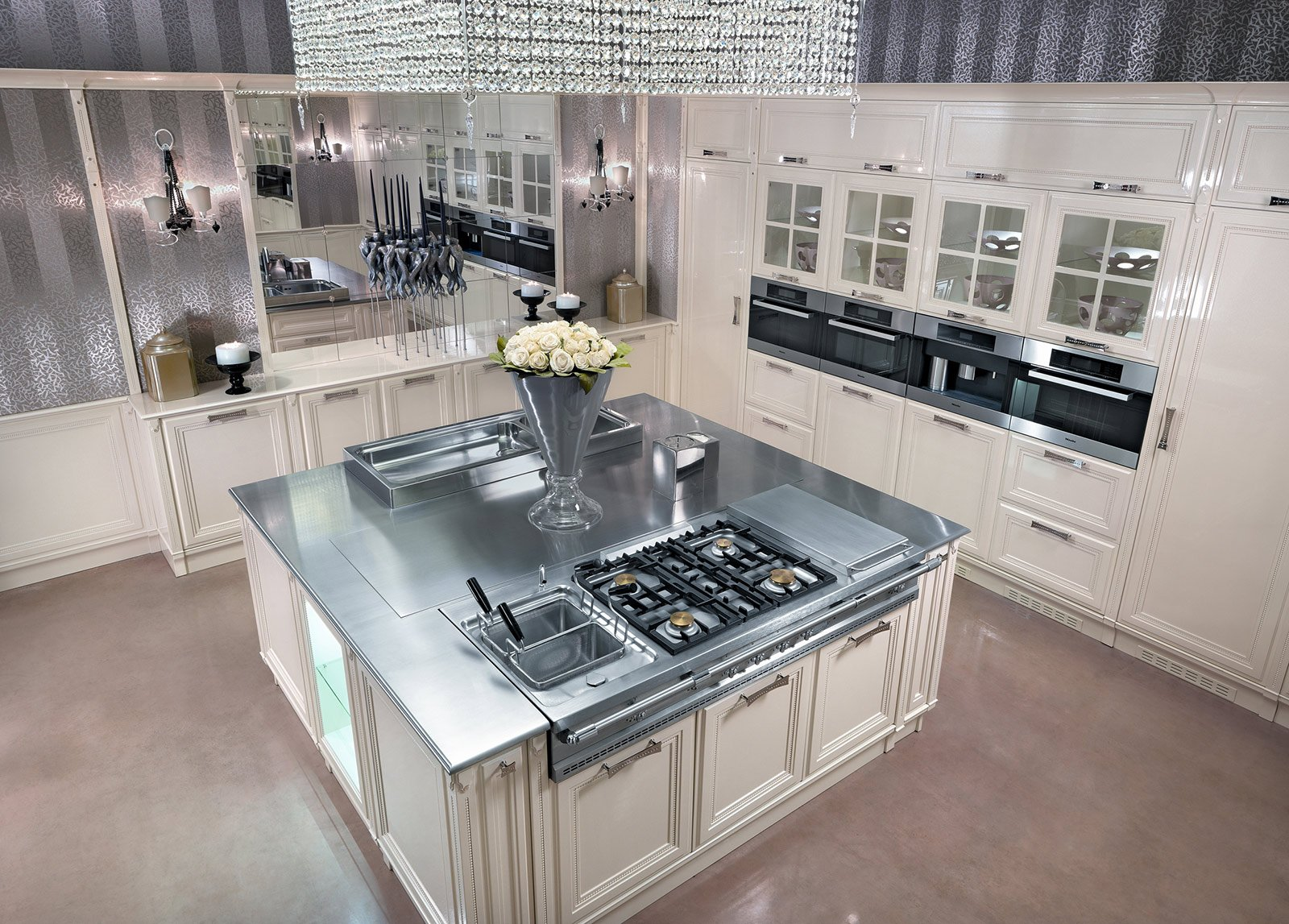 Cucine in stile cose di casa for Piani di casa con grandi cucine