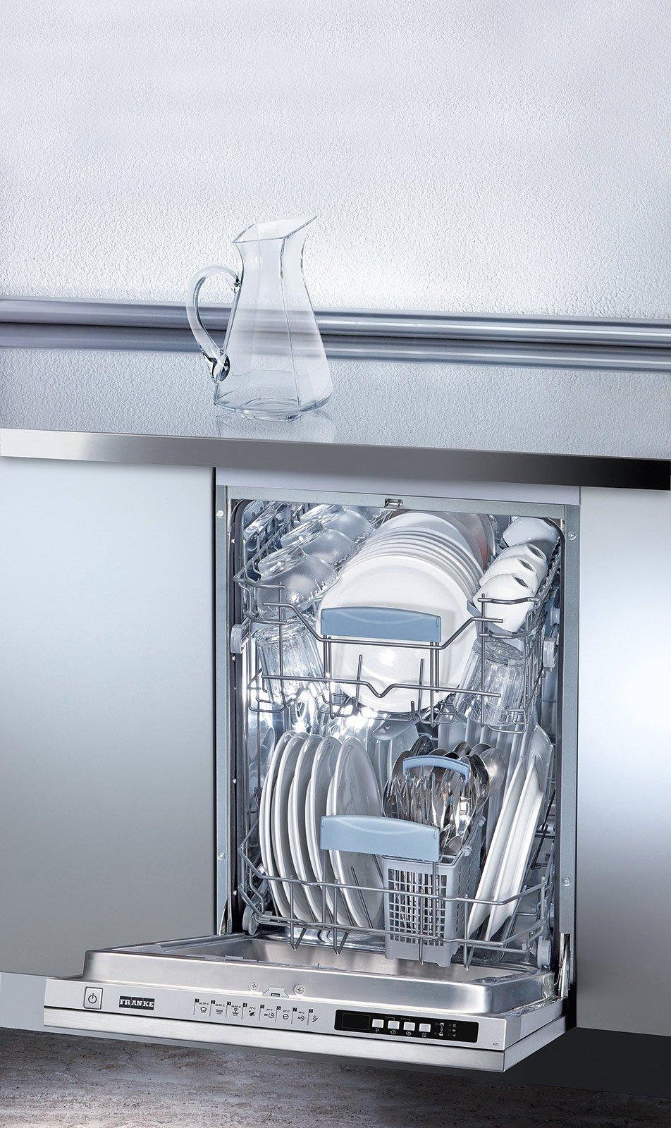 Lavastoviglie piccole per risparmiare spazio e consumi for Lavastoviglie da incasso 45 cm