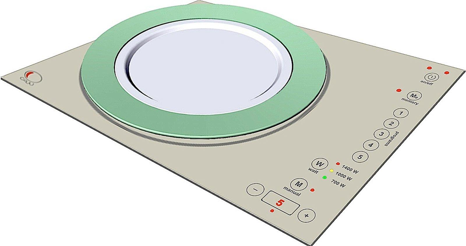 Piani cottura portatili cose di casa - Cucinare con induzione ...