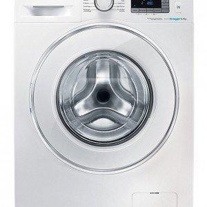 È dotata del sistema Ecolavaggio la lavatrice da 6 kg in classe A++. L'applicazione per Smartphone Smart Check segnala eventuali anomalie. Misura L 60 x P 40 x H 85 cm. Costa 449 euro Crystall Gloss Slim WF 60F4E 5W2W di Samsung, www.samsung.com/it