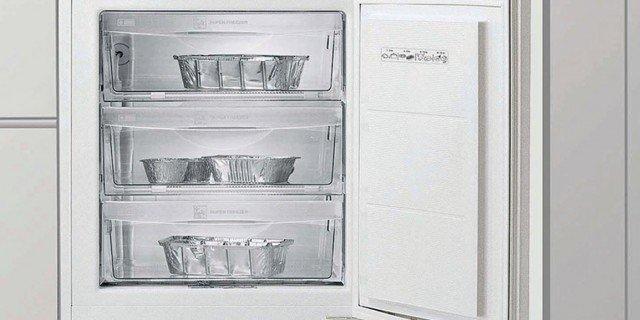 Frigorifero e congelatore in poco spazio