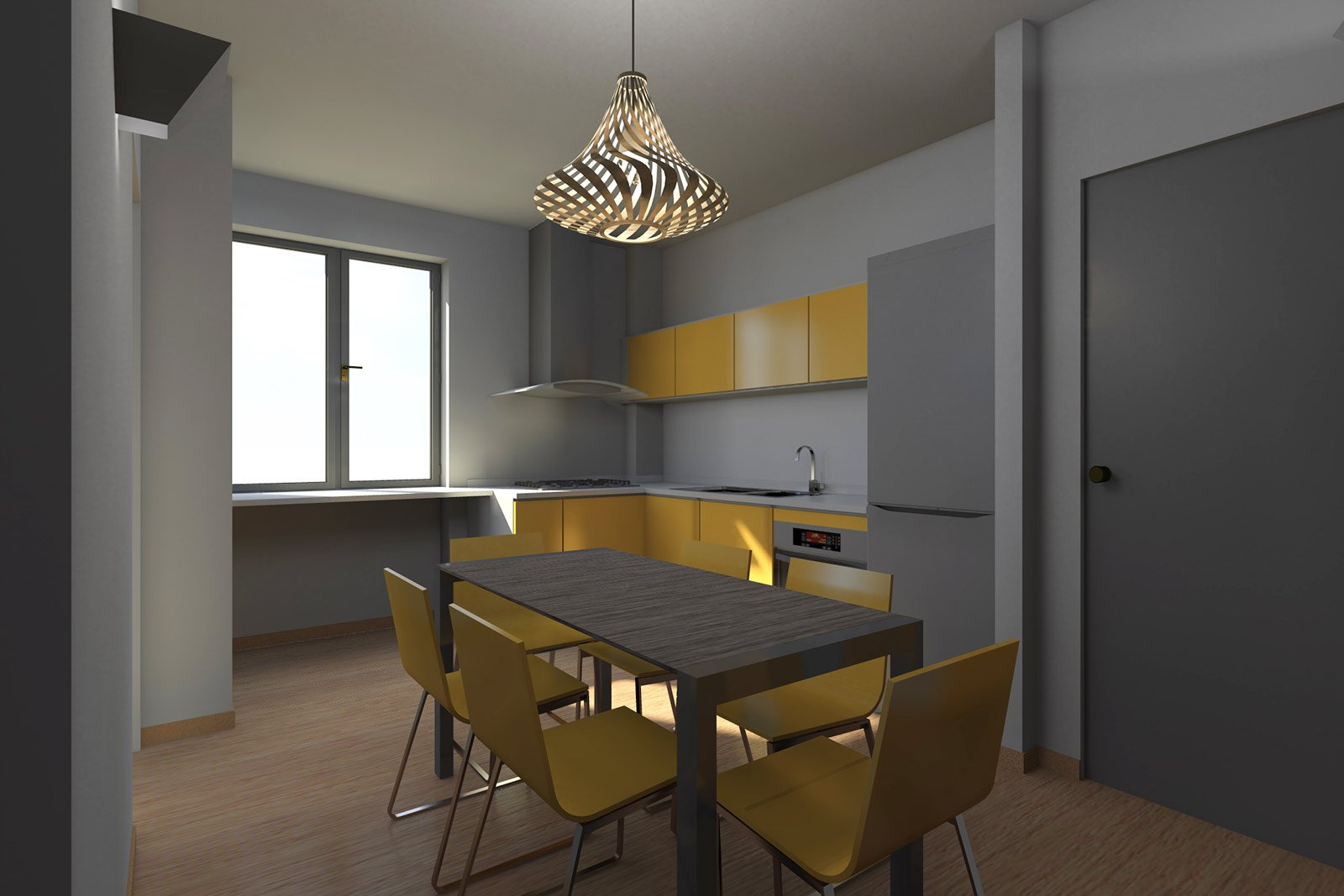 Zona giorno open space come separare le funzioni cose - Cucina a vista ...