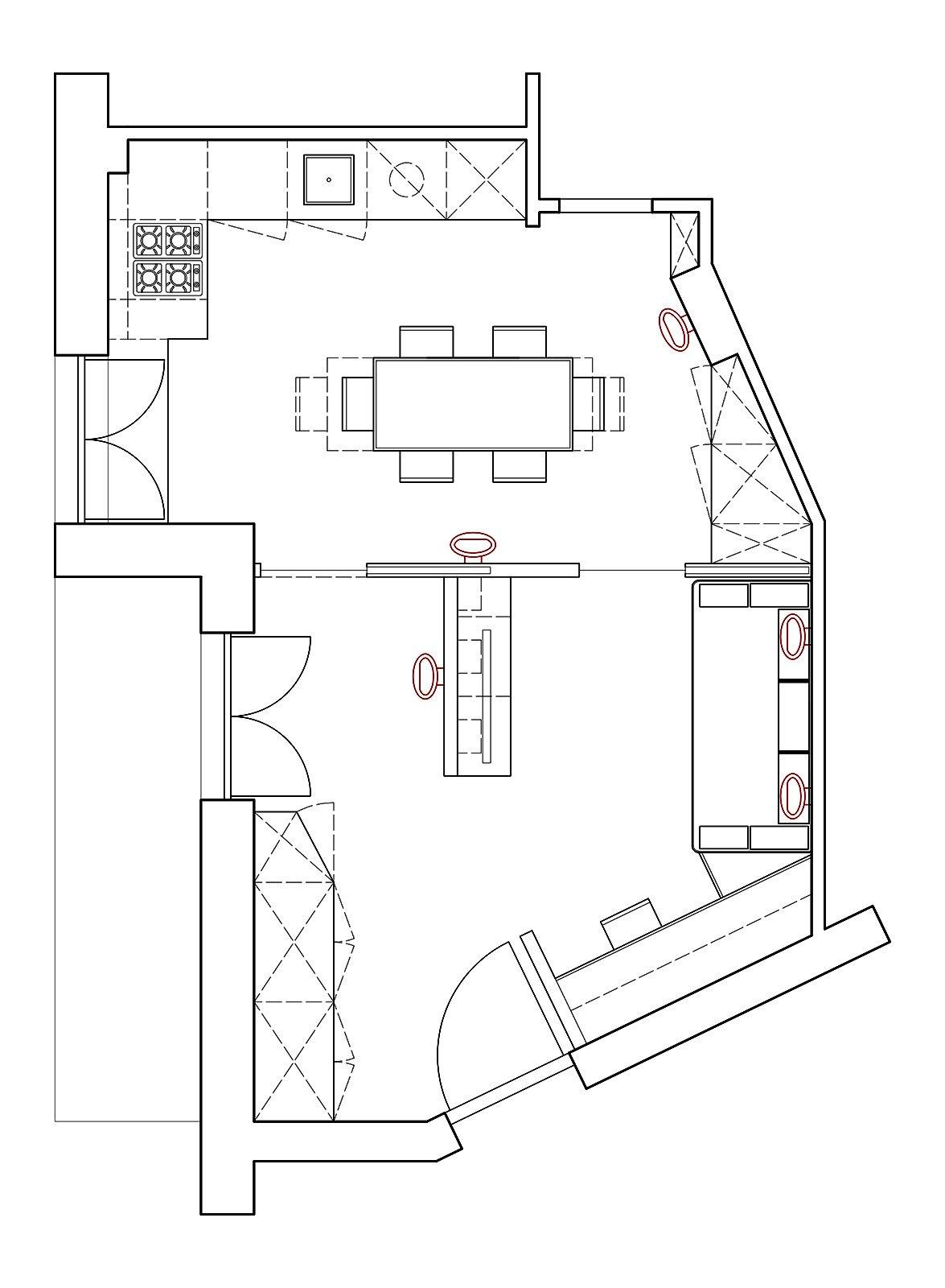 Zona giorno open space come separare le funzioni cose for Progetto zona giorno