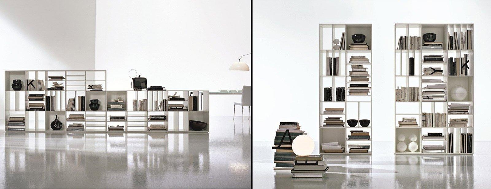 Libreria Per Logic Pro X : Librerie bifacciali per separare ambienti cose di casa