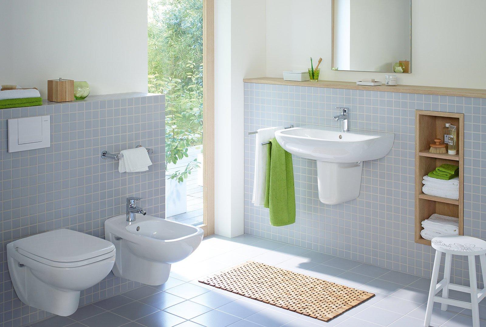 Il bagno cambia look dal lavabo all 39 arredo cose di casa - Quanto costano i sanitari del bagno ...