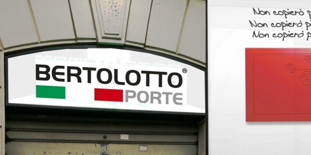 Bertolotto porte nuovo showroom a torino cose di casa - Bertolotto porte torino ...