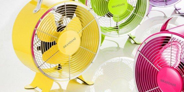 Aria fresca con i ventilatori