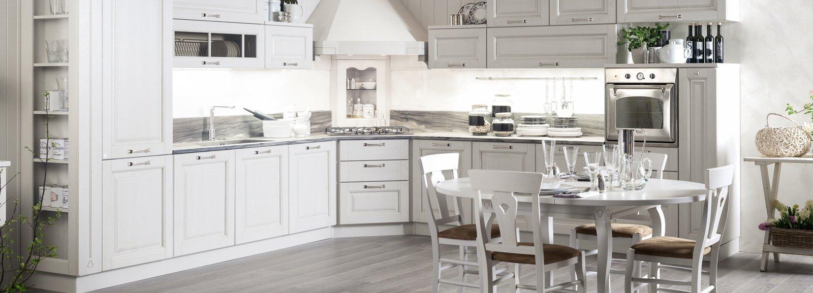 Cucine Bianche Classiche ~ Idea Creativa Della Casa e Dell ...